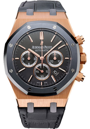Audemars Piguet Watches - Royal Oak Chronograph 41mm - Pink Gold - Style No: 26325OL.OO.D005CR.01