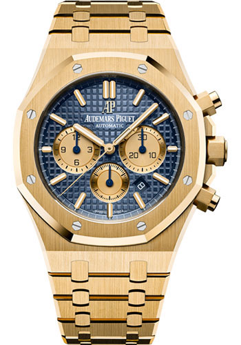 Audemars Piguet Watches - Royal Oak Chronograph 41mm - Yellow Gold - Style No: 26331BA.OO.1220BA.01