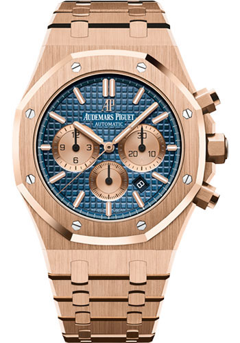 Audemars Piguet Watches - Royal Oak Chronograph 41mm - Pink Gold - Style No: 26331OR.OO.1220OR.01