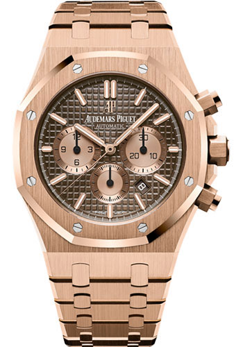 Audemars Piguet Watches - Royal Oak Chronograph 41mm - Pink Gold - Style No: 26331OR.OO.1220OR.02