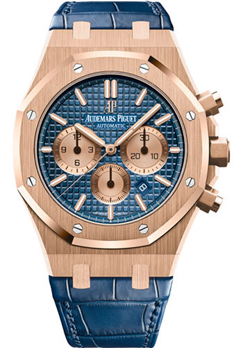Audemars Piguet Watches - Royal Oak Chronograph 41mm - Pink Gold - Style No: 26331OR.OO.D315CR.01