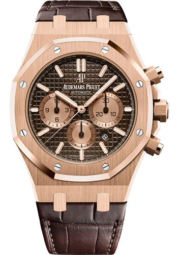 Audemars Piguet Watches - Royal Oak Chronograph 41mm - Pink Gold - Style No: 26331OR.OO.D821CR.01