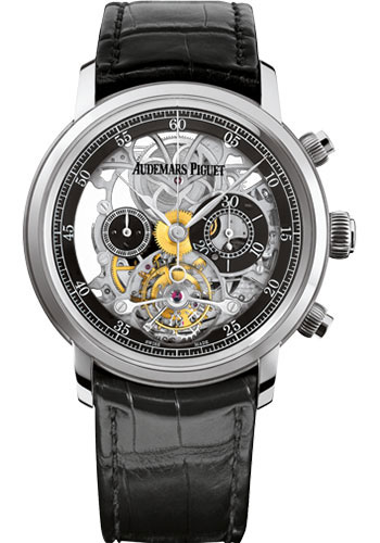 Audemars Piguet Watches - Jules Audemars Tourbillon Chronograph - Style No: 26346BC.OO.D002CR.01