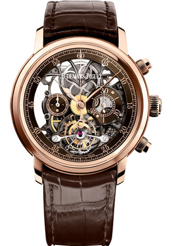 Audemars Piguet Watches - Jules Audemars Tourbillon Chronograph - Style No: 26346OR.OO.D088CR.01