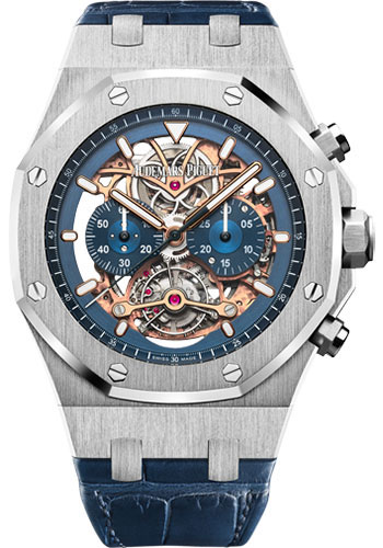 Audemars Piguet Watches - Royal Oak Tourbillon Chronograph Openworked - Style No: 26347PT.OO.D315CR.01