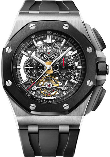 Audemars Piguet Watches - Royal Oak Offshore Tourbillon Chronograph Openworked - Style No: 26348IO.OO.A002CA.01