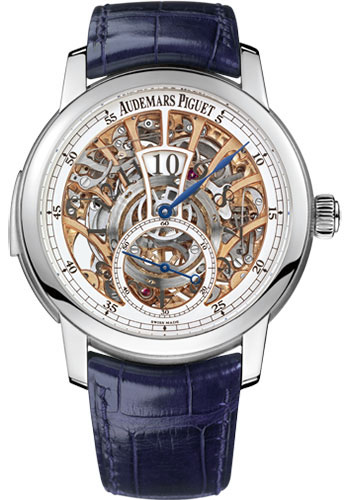 Audemars Piguet Watches - Jules Audemars Jumping Hour Minute Repeater - Style No: 26356PT.OO.D028CR.01