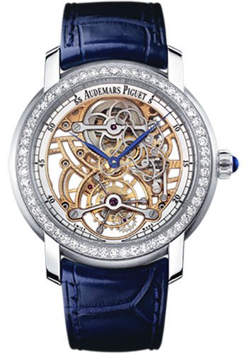 Audemars Piguet Watches - Jules Audemars Lady Skeleton Tourbillon - Style No: 26357PT.ZZ.D028CR.01