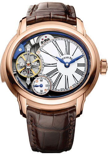 Audemars Piguet Watches - Millenary Minute Repeater With AP Escapement - Style No: 26371OR.OO.D803CR.01