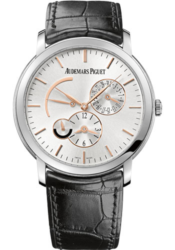 Audemars Piguet Watches - Jules Audemars Dual Time - Style No: 26380BC.OO.D002CR.01