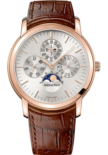 Audemars Piguet Watches - Jules Audemars Perpetual Calendar - Style No: 26390OR.OO.D088CR.01