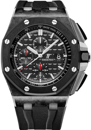 Audemars Piguet Watches - Royal Oak Offshore Chronograph - Carbon - Style No: 26400AU.OO.A002CA.01