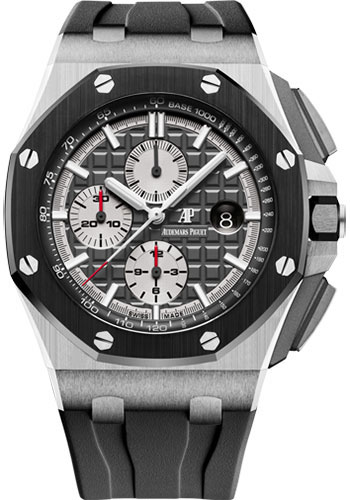 Audemars Piguet Watches - Royal Oak Offshore Chronograph 44mm - Titanium - Style No: 26400IO.OO.A004CA.01