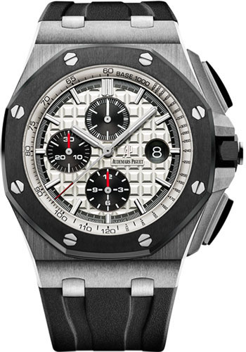 Audemars Piguet Watches - Royal Oak Offshore Chronograph 44mm - Stainless Steel And Ceramic - Style No: 26400SO.OO.A002CA.01