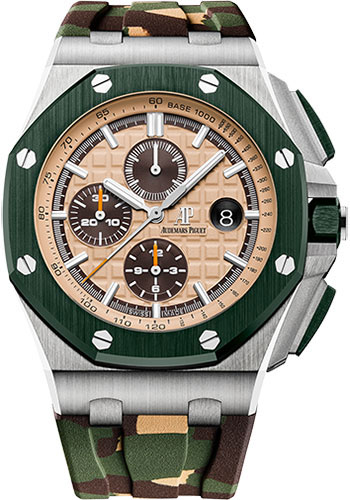 Audemars Piguet Watches - Royal Oak Offshore Chronograph 44mm - Stainless Steel - Style No: 26400SO.OO.A054CA.01