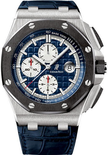 Audemars Piguet Watches - Royal Oak Offshore Chronograph 44mm - Platinum - Style No: 26401PO.OO.A018CR.01