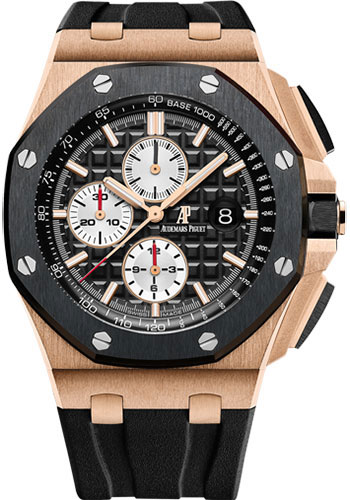 Audemars Piguet Watches - Royal Oak Offshore Chronograph - Pink Gold - Style No: 26401RO.OO.A002CA.01