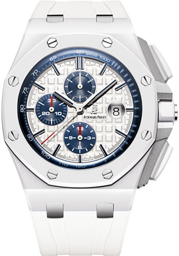 Audemars piguet watches royal oak offshore chronograph ceramic from swissluxury for Royal oak offshore ceramic