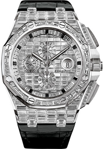 Audemars Piguet Watches - Royal Oak Offshore Chronograph 44mm - White Gold - Style No: 26403BC.ZZ.D102CR.01