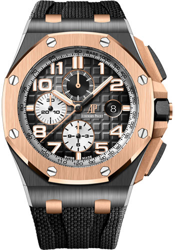 Audemars Piguet Watches - Royal Oak Offshore Chronograph 44mm - Ceramic and Pink Gold - Style No: 26405NR.OO.A002CA.01