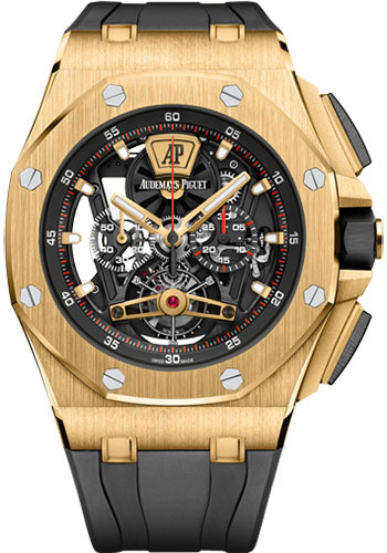 Audemars Piguet Watches - Royal Oak Offshore Tourbillon Chronograph - Style No: 26407BA.OO.A002CA.01