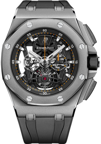 Audemars Piguet Watches - Royal Oak Offshore Tourbillon Chronograph - Style No: 26407TI.GG.A002CA.01