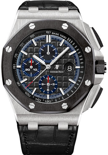 Audemars Piguet Watches - Royal Oak Offshore Chronograph 44mm - Platinum - Style No: 26411PO.OO.A002CR.01