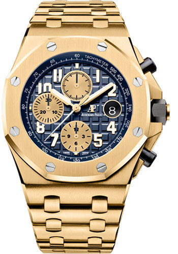 Audemars Piguet Watches - Royal Oak Offshore Chronograph 42mm - Yellow Gold - Style No: 26470BA.OO.1000BA.01