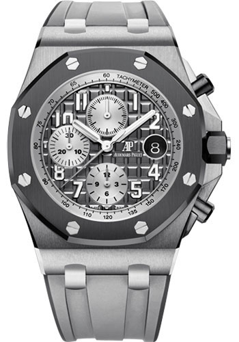 Audemars Piguet Watches - Royal Oak Offshore Chronograph 42mm - Titanium - Style No: 26470IO.OO.A006CA.01