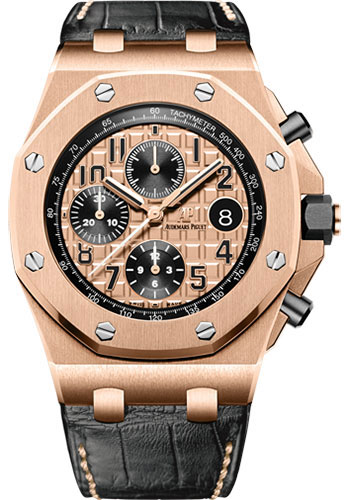 Audemars Piguet Watches - Royal Oak Offshore Chronograph - Pink Gold - Style No: 26470OR.OO.A002CR.01