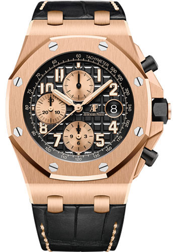 Audemars Piguet Watches - Royal Oak Offshore Chronograph 42mm - Pink Gold - Style No: 26470OR.OO.A002CR.02