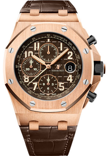 Audemars Piguet Watches - Royal Oak Offshore Chronograph 42mm - Pink Gold - Style No: 26470OR.OO.A099CR.01