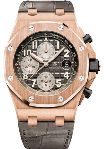 Audemars Piguet Watches - Royal Oak Offshore Chronograph 42mm - Pink Gold - Style No: 26470OR.OO.A125CR.01