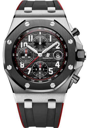 Audemars Piguet Watches - Royal Oak Offshore Chronograph 42mm - Stainless Steel And Ceramic - Style No: 26470SO.OO.A002CA.01