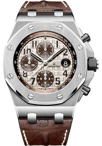 Audemars Piguet Watches - Royal Oak Offshore Chronograph - Stainless Steel - Style No: 26470ST.OO.A801CR.01