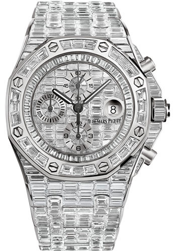 Audemars Piguet Watches - Royal Oak Offshore Chronograph 42mm - White Gold - Style No: 26473BC.ZZ.8043BC.01