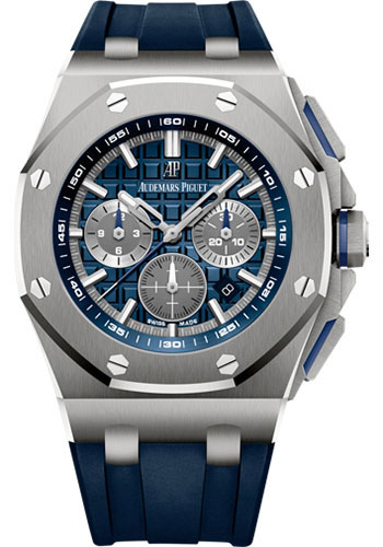 Audemars Piguet Watches - Royal Oak Offshore Chronograph 42mm - Titanium - Style No: 26480TI.OO.A027CA.01