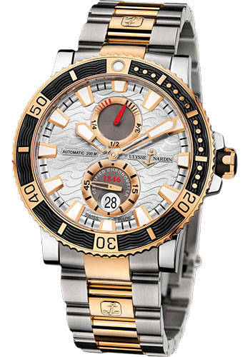 Ulysse Nardin Watches - Marine Diver 45mm - Titanium and Gold - Bracelet - Style No: 265-90-8M/91