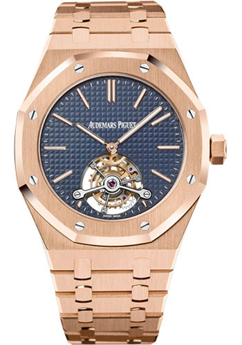 Audemars Piguet Watches - Royal Oak Tourbillon 41mm Extra-Thin - Style No: 26510OR.OO.1220OR.01