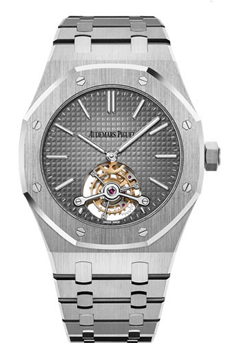 Audemars Piguet Watches - Royal Oak Tourbillon 41mm Extra-Thin - Style No: 26510PT.OO.1220PT.01