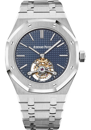 Audemars Piguet Watches - Royal Oak Tourbillon 41mm Extra-Thin - Style No: 26510ST.OO.1220ST.01