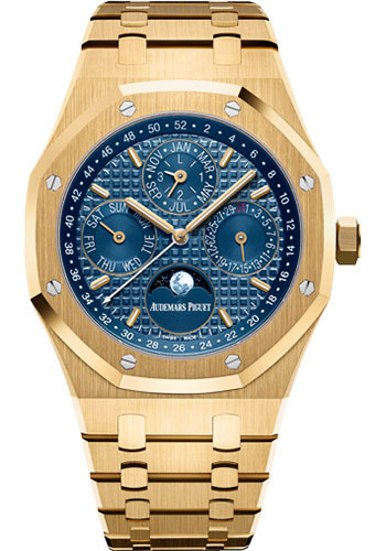 Audemars Piguet Watches - Royal Oak Perpetual Calendar - Yellow Gold - Style No: 26574BA.OO.1220BA.01