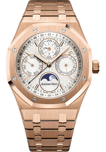 Audemars Piguet Watches - Royal Oak Perpetual Calendar - Pink Gold - Style No: 26574OR.OO.1220OR.01
