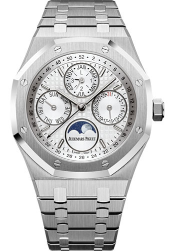 Audemars Piguet Watches - Royal Oak Perpetual Calendar - Stainless Steel - Style No: 26574ST.OO.1220ST.01