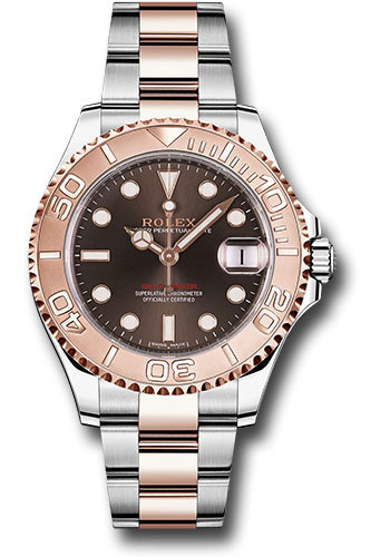 Rolex Watches - Yacht-Master 37 mm - Steel and Everose Gold - Style No: 268621
