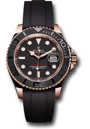 Rolex Watches - Yacht-Master 37 mm - Everose Gold - Style No: 268655