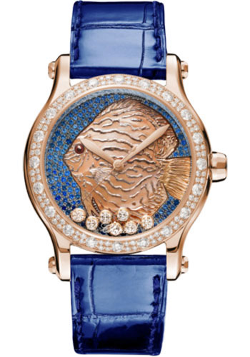 Chopard Watches - Happy Sport Happy Fish - Style No: 274891-5019
