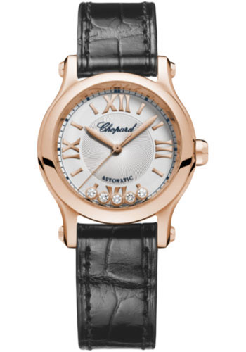 Chopard Watches - Happy Sport Round - 30mm - Rose Gold - Style No: 274893-5011