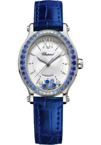 Chopard Watches - Happy Sport Oval - White Gold - Style No: 275362-1003