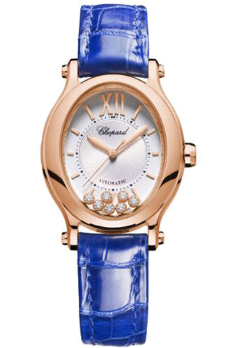 Chopard Watches - Happy Sport Oval - Rose Gold - Style No: 275362-5001